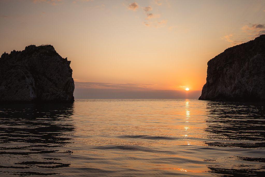 sfaktiria sunset